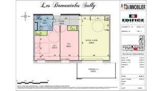 appartement B1-113 de type T3